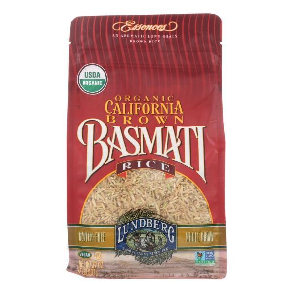 Lundberg Family Farms Organic California Brown Basmati Rice - Case of 6 - 2 lb. %count(alt)