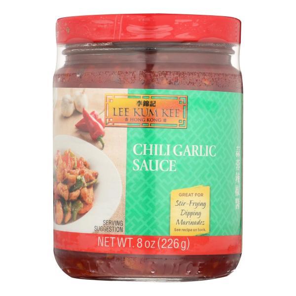 Lee Kum Kee Chili Garlic Sauce - Garlic Sauce - Case of 6 - 8 oz. %count(alt)
