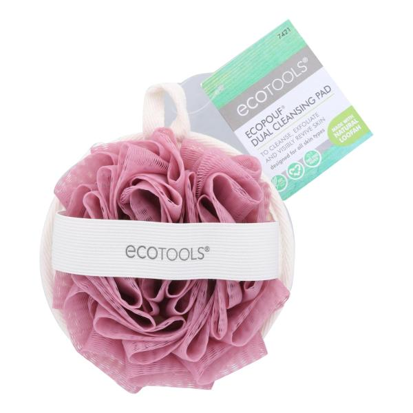 Ecotools Ecopouf Dual Cleansing Pad - Case of 4 - CT %count(alt)