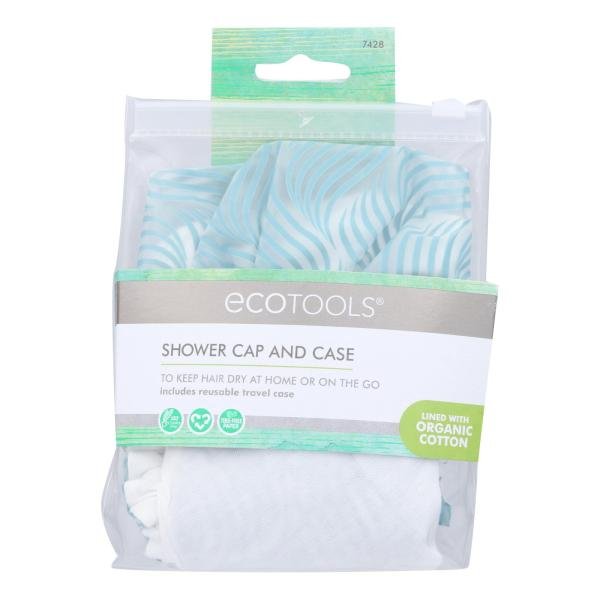 Eco Tools Shower Cap - Case of 4 - 1 Count %count(alt)