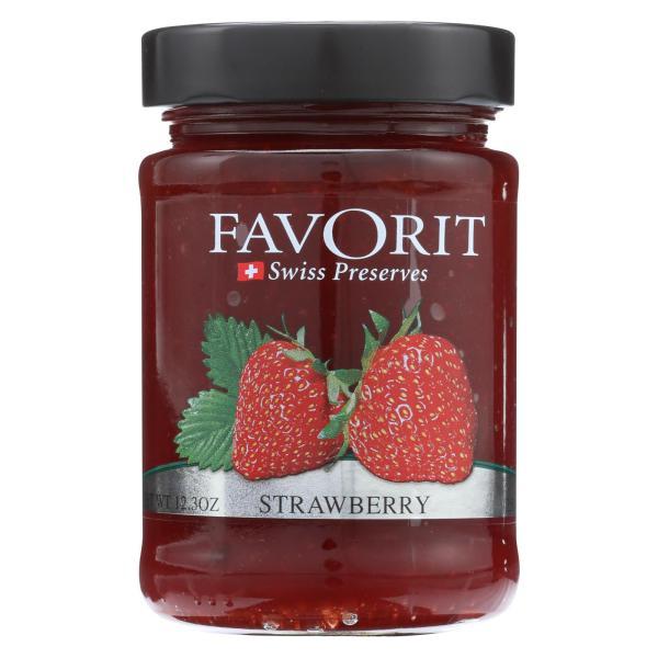 Favorit Preserves - Swiss - Strawberry - 12.3 oz - case of 6 %count(alt)