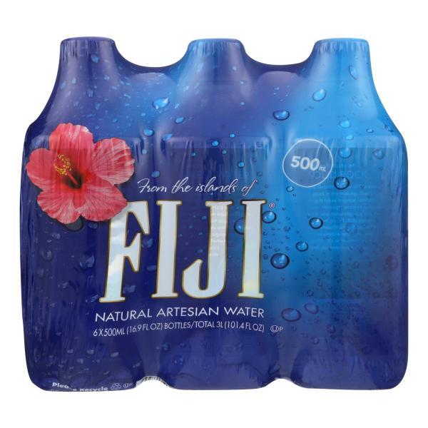 Fiji Natural Artesian Water - Case of 4 - 16.9 Fl oz. %count(alt)