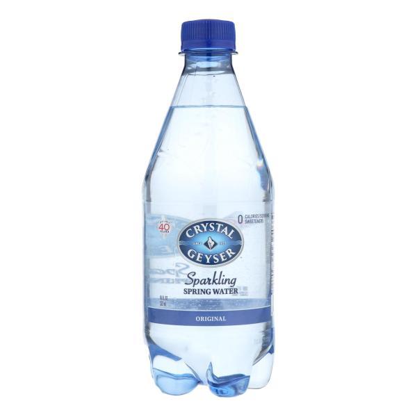 Crystal Geyser Sparkling Mineral Water - Case of 6 - 4/18 FZ %count(alt)