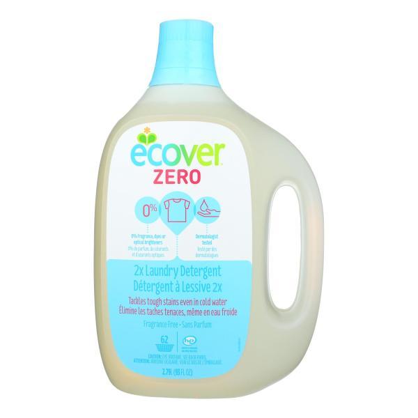 Ecover Zero 2X Laundry Detergent - Case of 4 - 93 FL oz. %count(alt)