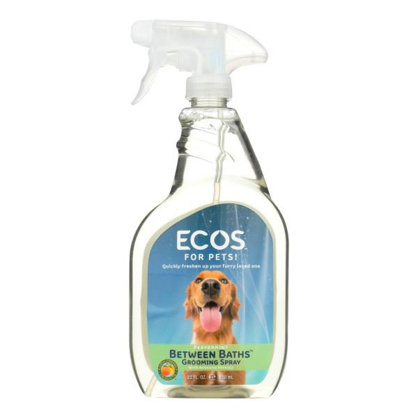 Ecos For Pets! Between Baths Grooming Spray - Case of 6 - 22 OZ %count(alt)