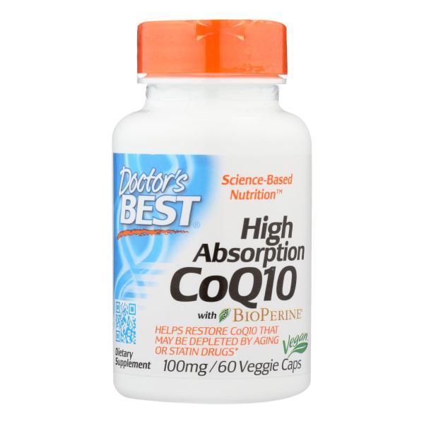 Doctor's Best - Coq10 Hi Abs 100mg - 1 Each-60 VCAP %count(alt)
