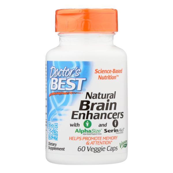 Doctor's Best - Brain Enhancer Natural - 1 Each-60 VCAP %count(alt)