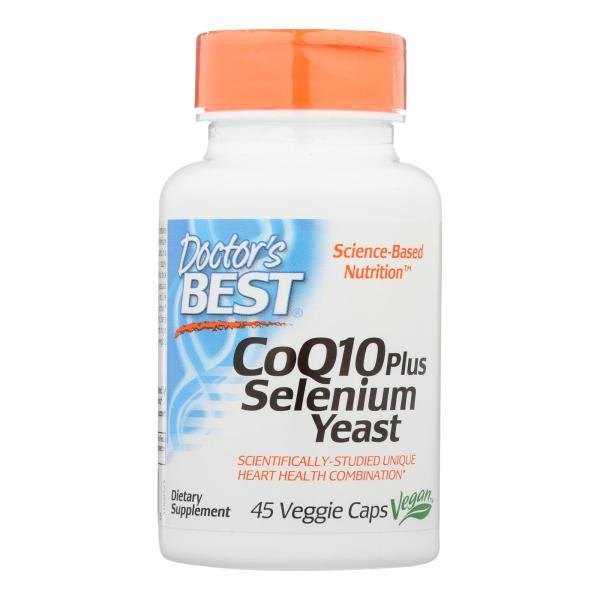 Doctor's Best - Coq10 + Selenium Yeast - 1 Each-45 VCAP %count(alt)