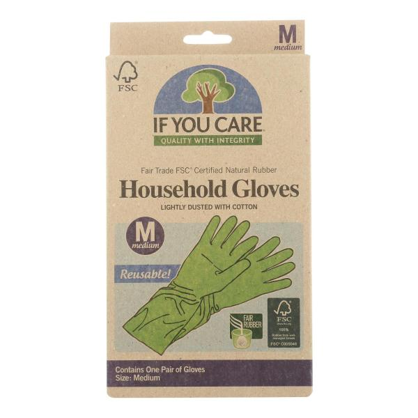 If You Care Household Gloves - Medium - 12 Pairs %count(alt)