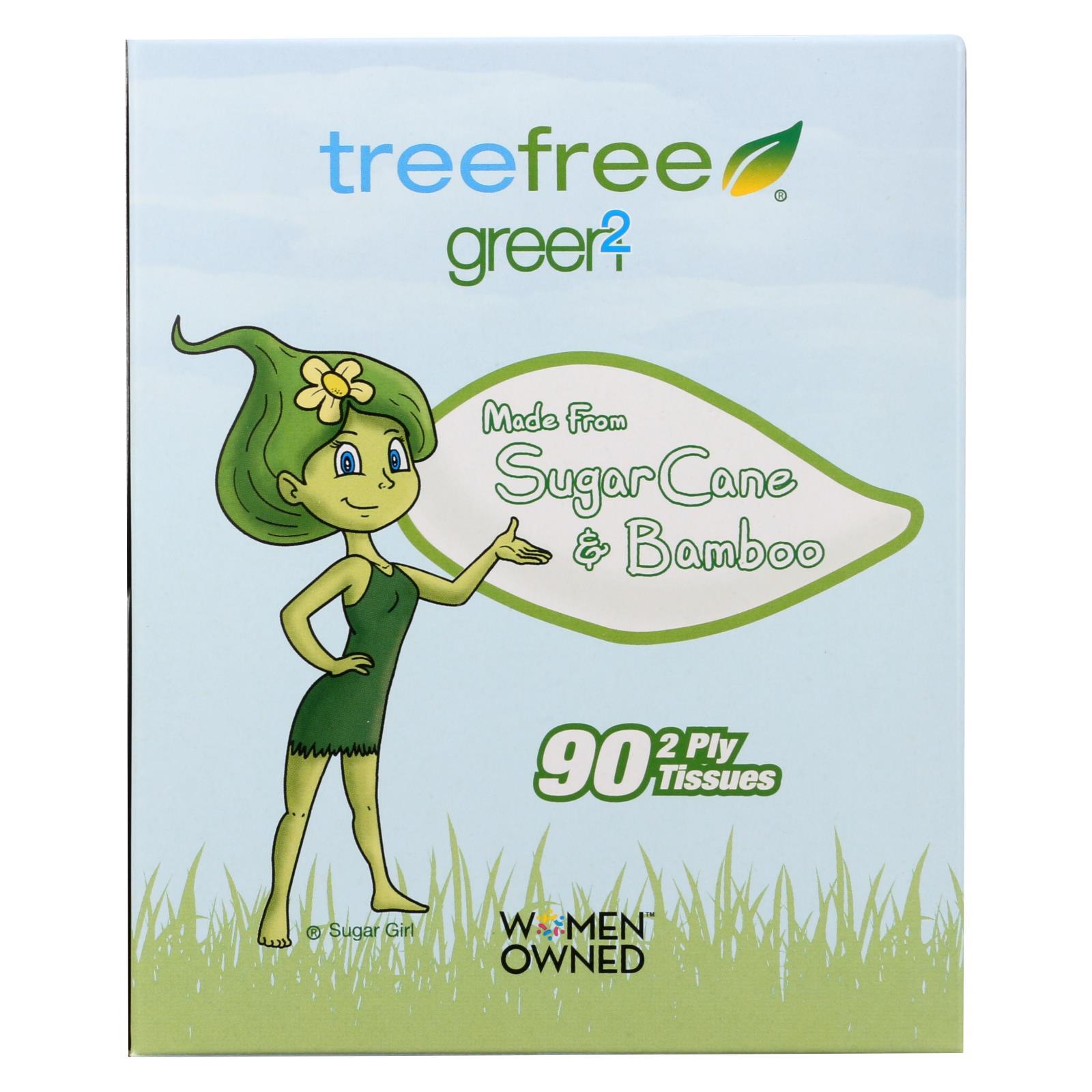 Green2 Facial Tissue - Case of 30 %count(alt)