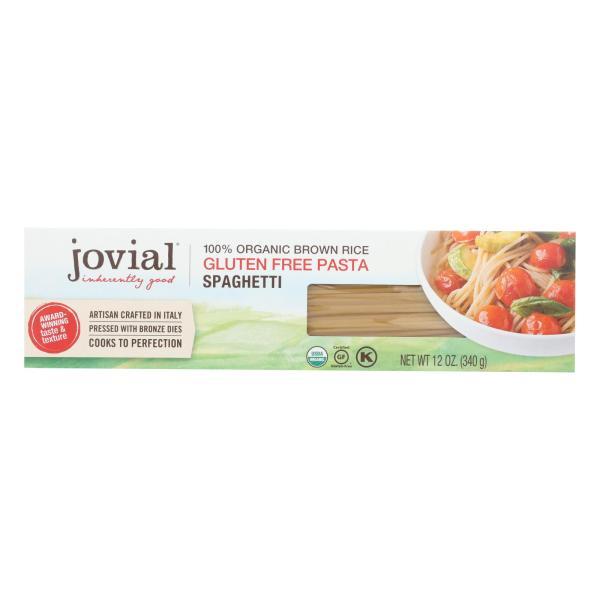 Jovial - Pasta - Organic - Brown Rice - Spaghetti - 12 oz - case of 12 %count(alt)