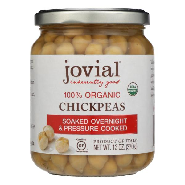 Jovial - Organic Chickpeas - Case of 6 - 13 oz. %count(alt)