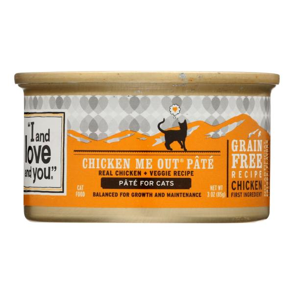 I and Love and You Chicken Me Out - Wet Food - Case of 24 - 3 oz. %count(alt)