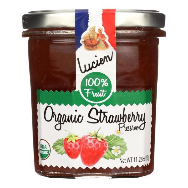 Lucien Georgelin Fruit Spread - Organic - Strawberry - Case of 6 - 11.28 oz %count(alt)