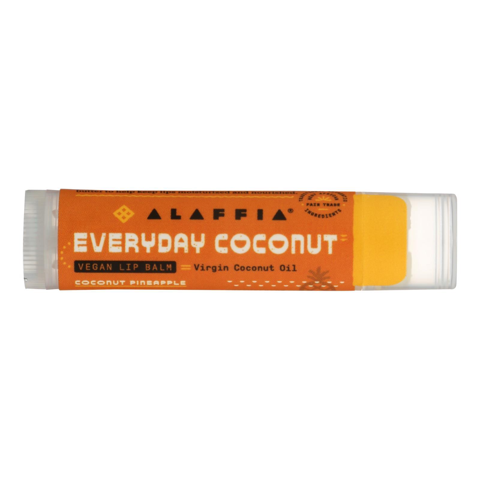 Everyday Coconut's CoconutPineapple Lip Balm - Case of 24 - .15 OZ %count(alt)
