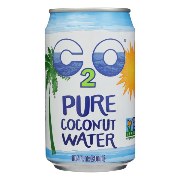 C2O - Pure Coconut Water Pure Coconut Water - Case of 24 - 10.5 fl oz %count(alt)