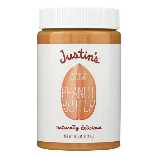 Justin's Nut Butter Peanut Butter - Classic - Case of 12 - 16 oz. %count(alt)