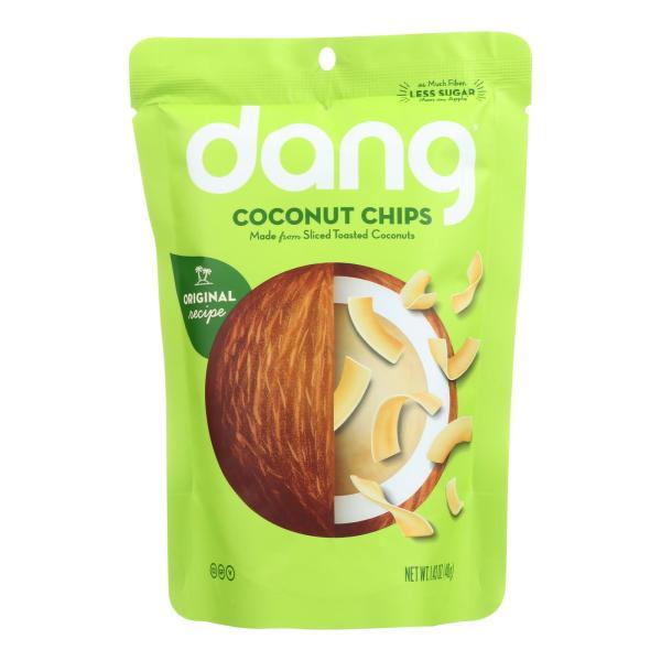 Dang - Toasted Coconut Chips - Original Recipe - Case of 12 - 1.43 oz. %count(alt)