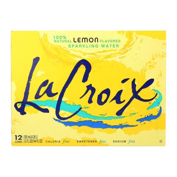 Lacroix Sparkling Water - Lemon - Case of 2 - 12 Fl oz. %count(alt)