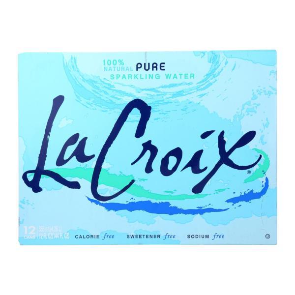 Lacroix Natural Sparkling Water - Case of 2 - 12 Fl oz. %count(alt)