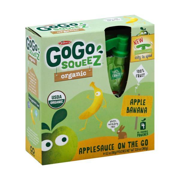 GoGo Squeeze Applesauce - Apple banana - Case of 12 - 3.2 oz. %count(alt)