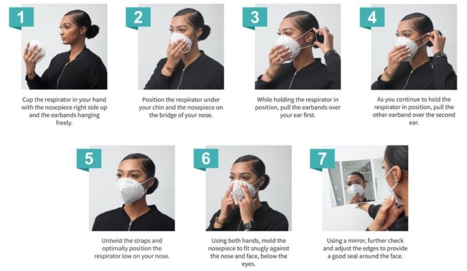 breath Eco2 Mask Wear