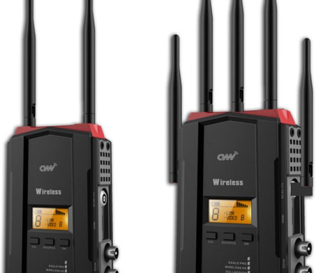 Cvw 300 Pro Wireless Hd Video Transmitter Receiver Via Hdmi Good Dog Digital