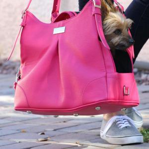 view with dog pink yarrow mia michele