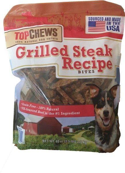 Top Chews Grilled Steak Recipe 2 5 Lbs Good Doggen