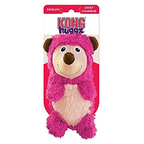 kong-huggz-soft-dog-toy-hedgehog front
