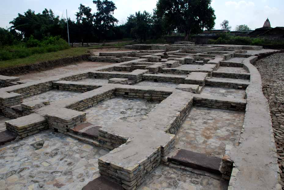 General layout of a town house from Sirpur