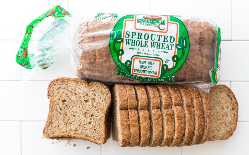 Sprouted Whole Wheat Bread Alvarado Street Bakery SF