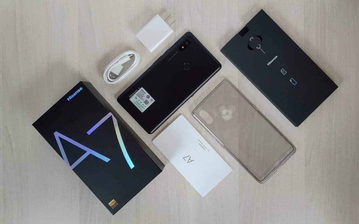 Tech :  Premier aperçu du Hisense A7 – Un téléphone E INK avec un écran géant  , avis