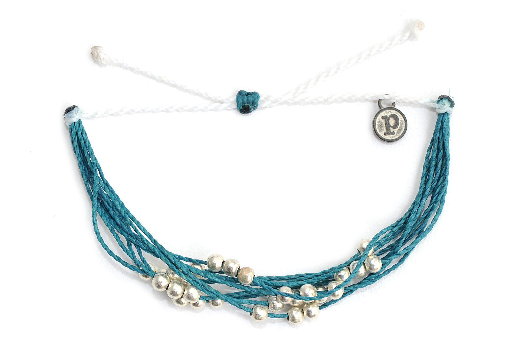Pura Vida Bracelets Ovarian Cancer Platinum