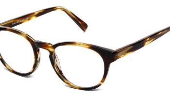 9800f839cf706 Warby Parker Eyeglasses    Percey in Striped Sassafras
