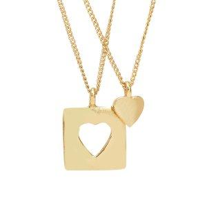 Ten Thousand Villages Heart Necklace