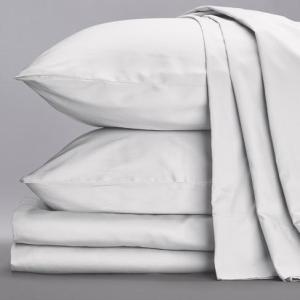 White Bed Sheet Set from Sol Organics