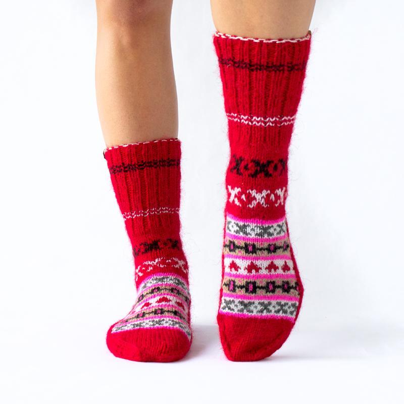 Fazl Socks - Red