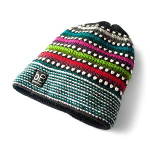 Beyond Beanie Black Rainbow Kids