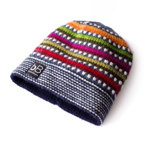 Beyond Beanie Blue Rainbow