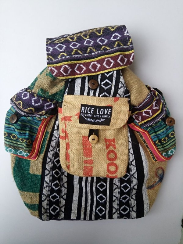 Rice Love Travel Backpack