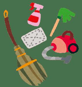 掃除道具セット画像