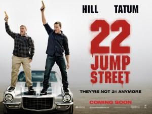 22JumpStreet Quad Poster