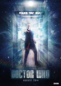 Doctor Who Peter Capaldi Poster 2014