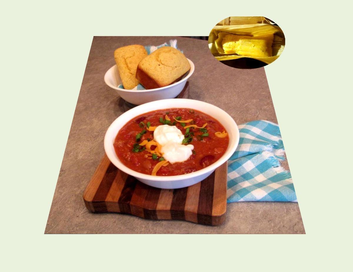 Chili Con Carne with Cornbread