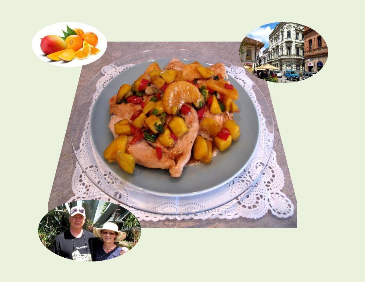 Mango – Orange Chicken Breast