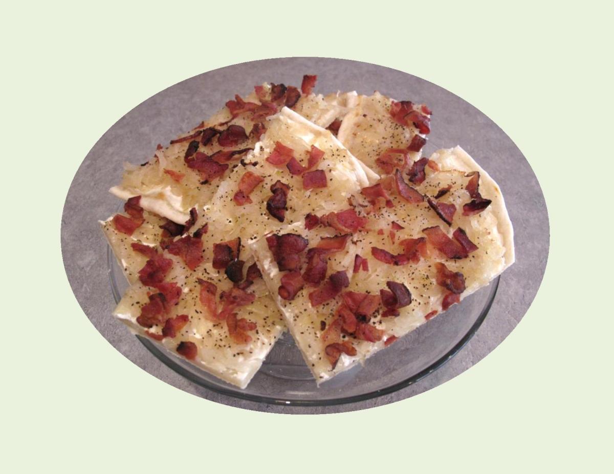 Flammkuchen – German Pizza