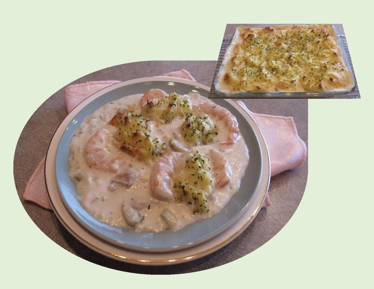 Seafood Shepherd's Pie