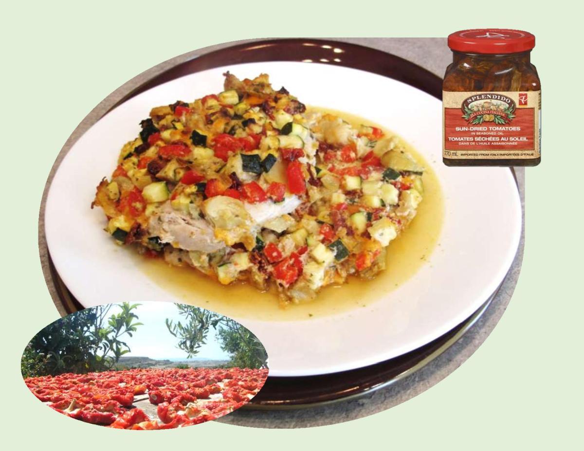 Sun-dried Tomato Parmesan Chicken Breast