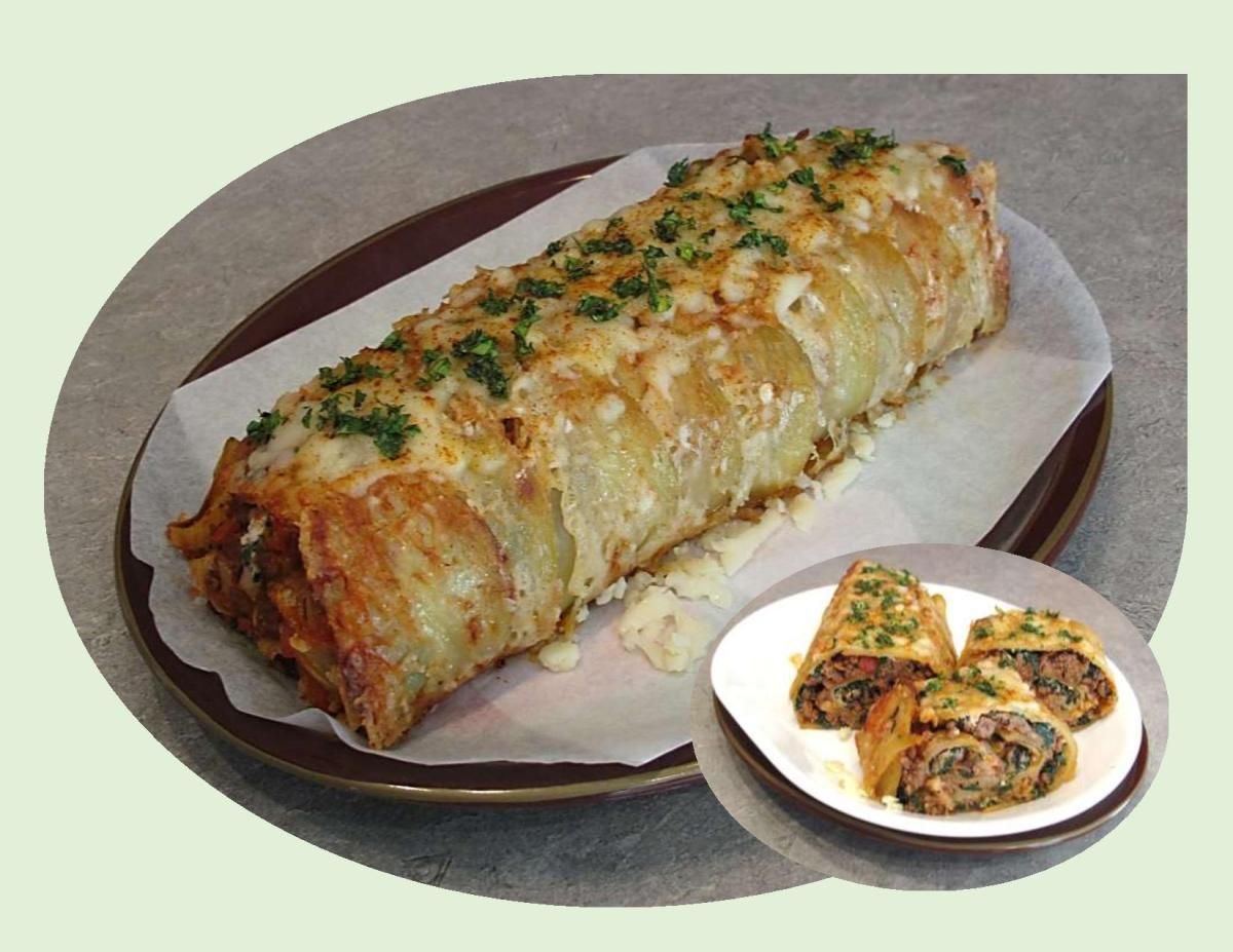 Scalloped Potato Roll